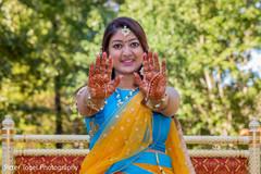 pre- wedding celebrations,indian bridal mehndi,indian bride fashion