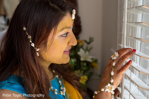 pre- wedding celebrations,indian bride,haldi ceremony