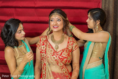 indian bride fashion,bridal jewelry,indian bridesmaids' fashion,indian bride getting ready