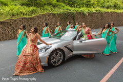 indian bride fashion,indian bridesmaids' fashion,transportation,indian bridal party