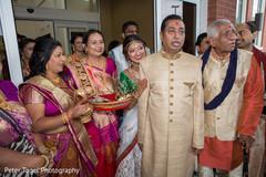 indian wedding ceremony,milni ceremony