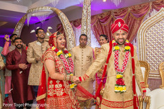 indian wedding ceremony,indian bride and groom,saptapadi ritual