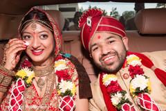 indian wedding ceremony,vidaai,indian bride and groom