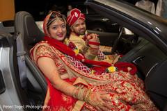 indian bride and groom,indian wedding ceremony,transportation