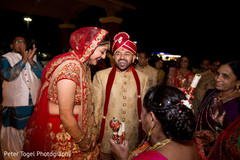 indian bride and groom,indian wedding ceremony
