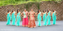 indian bride fashion,indian bridesmaids' fashion,indian bridal party