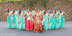 indian bridal party,indian bride and groom,indian bridesmaids' fashion,indian groomsmen fashion