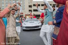 indian groom fashion,transportation,indian wedding baraat