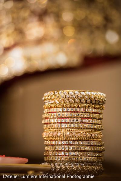 Dazzling indian bridal bangles