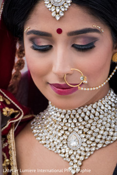 indian bride,bridal jewelry,indian bridal makeup