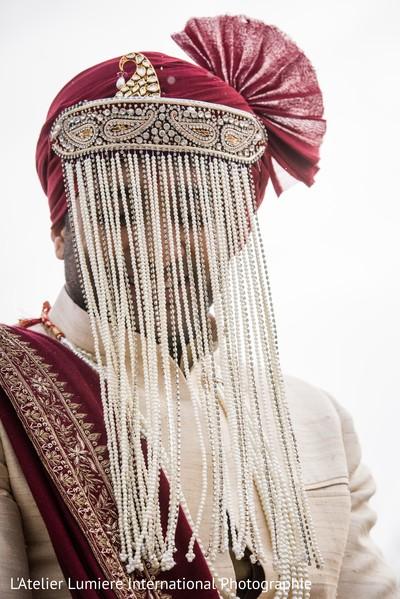 Charming indian groom