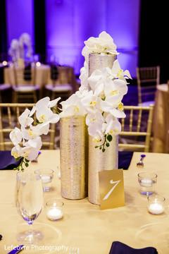 indian wedding reception,indian decor,floral centerpiece