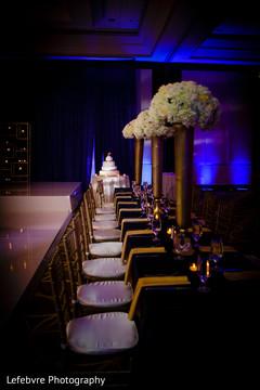 indian wedding reception,indian wedding decor,floral centerpiece