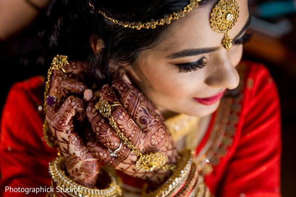indian bride getting ready,indian bridal mehndi,maharani's bridal bangles,bridal jewelry