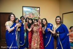 indian bride fashion,indian bridesmaids' fashion,indian bridal party
