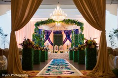 Magnificent indian wedding ceremony stage