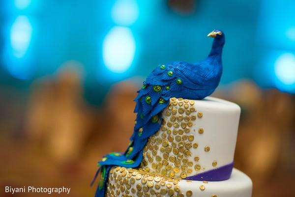 Creative indian wedding cake topper