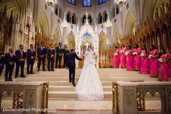 Christian indian wedding ceremony capture