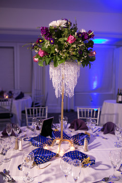 indian wedding reception,indian wedding planning and design,indian wedding reception floral and decor,floral centerpiece