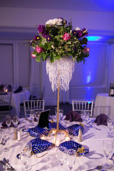 indian wedding reception,indian wedding planning and design,indian wedding reception floral and decor,floral centerpiece