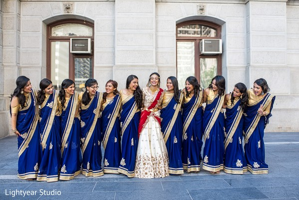 indian bride,indian bridesmaids,indian wedding photography