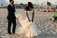 indian bride and groom,outdoor photography,indian wedding gallery