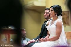 Inspiring Indian catholic wedding ceremony.