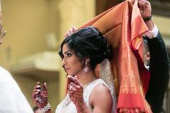 Traditional Indian catholic wedding ceremony ritual.