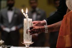 Indian catholic wedding ceremony ritual.