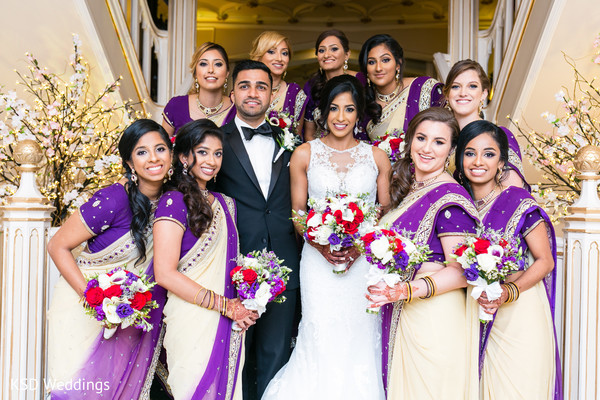 Indian bridal party.