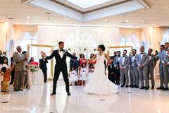 indian wedding reception,indian bride and groom,dj,choreography