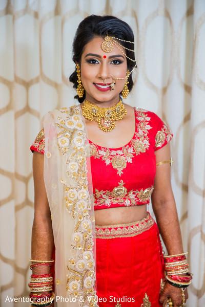 Maharani perfect wedding ceremony look.