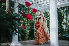 Delightful Indian couple wedding capture.