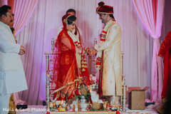 indian wedding ceremony,indian bride and groom,mandap,floral and decor