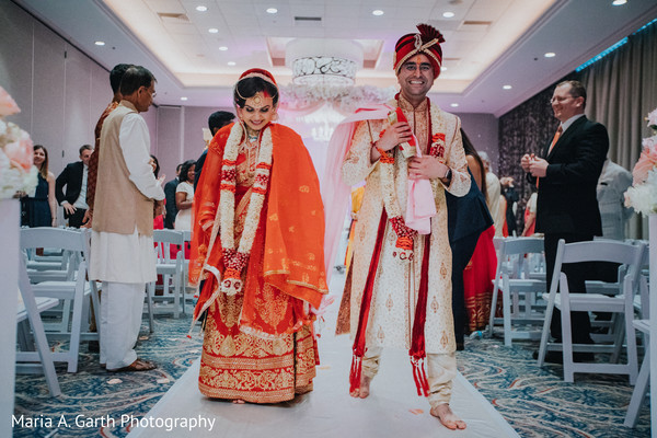 indian wedding ceremony,indian bride and groom