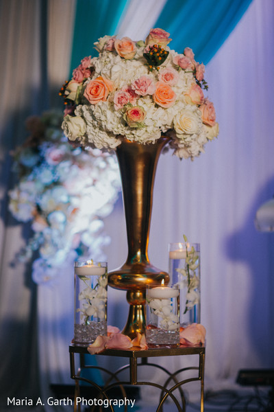 Dreamy Indian wedding floral decor.