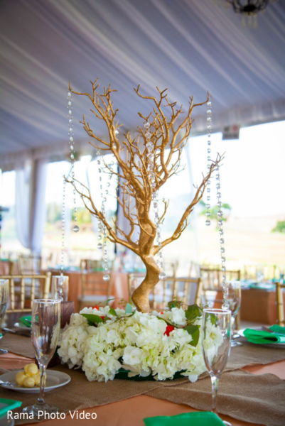 Beautiful indian wedding table decoration