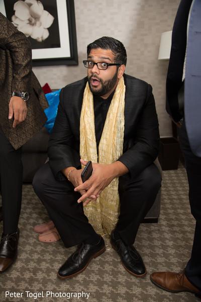 Indian groomsmen wear.