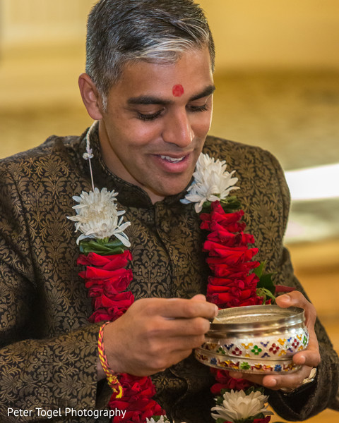 Rajah's Pre- wedding ritual.
