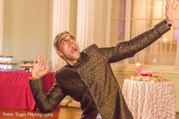 Fun Indian groom photography.
