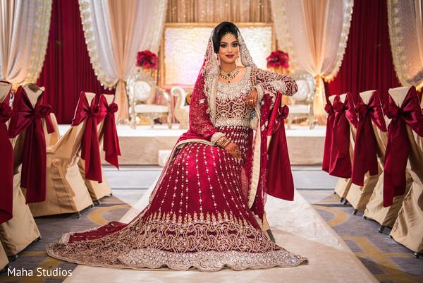 pakistani wedding ceremony,floral and decor,pakistani bride