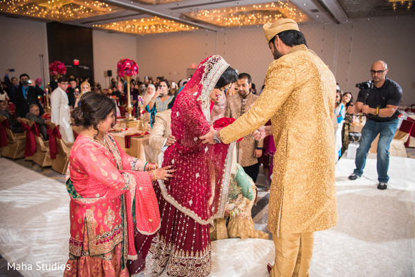 Traditional Pakistani Muslim ceremony.