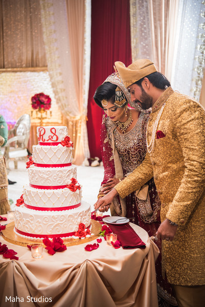 Pakistani bride and groom stellar moments.