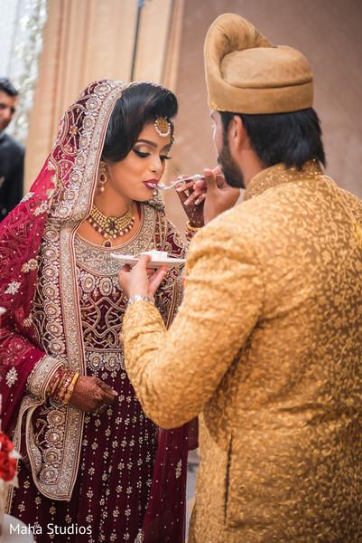Pakistani bride and groom treasured moments.