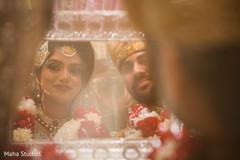pakistani wedding ceremony,indian bride and groom