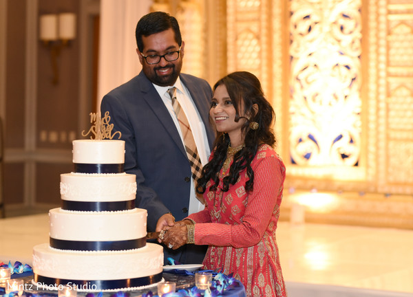A Fairy tale Indian wedding cake.