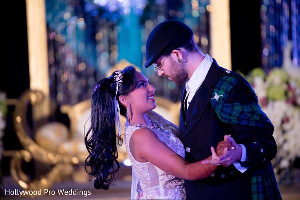 indian wedding reception,indian bride fashion,indian groom fashion,first dance