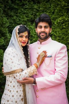 Maharani and Rajah wedding portrait.