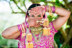 indian bride fashion,bridal jewelry,maharani's bridal bangles,indian bride portrait,indian bridal mehndi