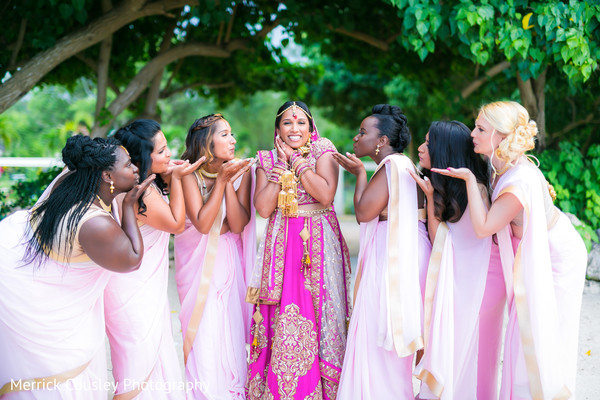 outdoor photography,indian bride lengha,indian bridesmaids' fashion
